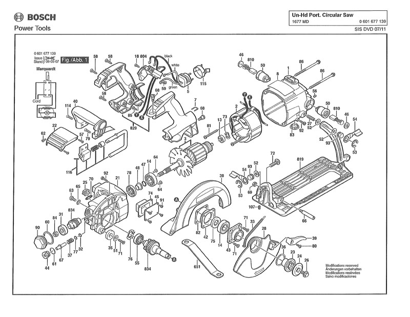 Parts for 1677MD (0601677139) | Powerhouse Distributing