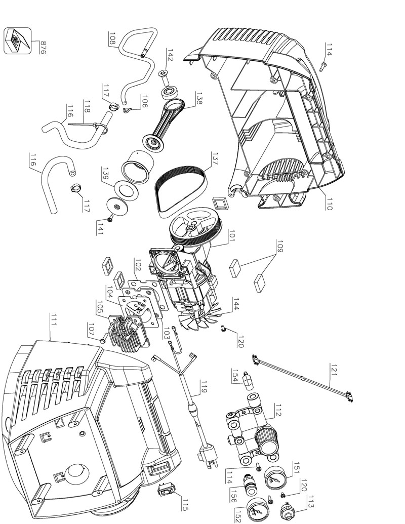 Parts for BTFP02011 TYPE 1 | Powerhouse Distributing