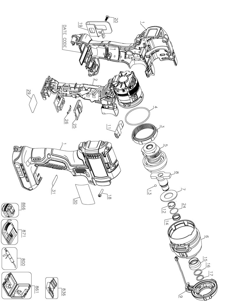 tool diagram