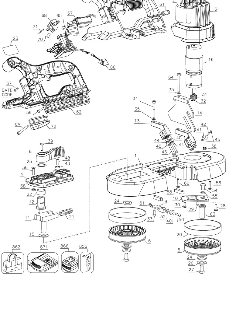 Parts for DCS371 TYPE 2 | Powerhouse Distributing