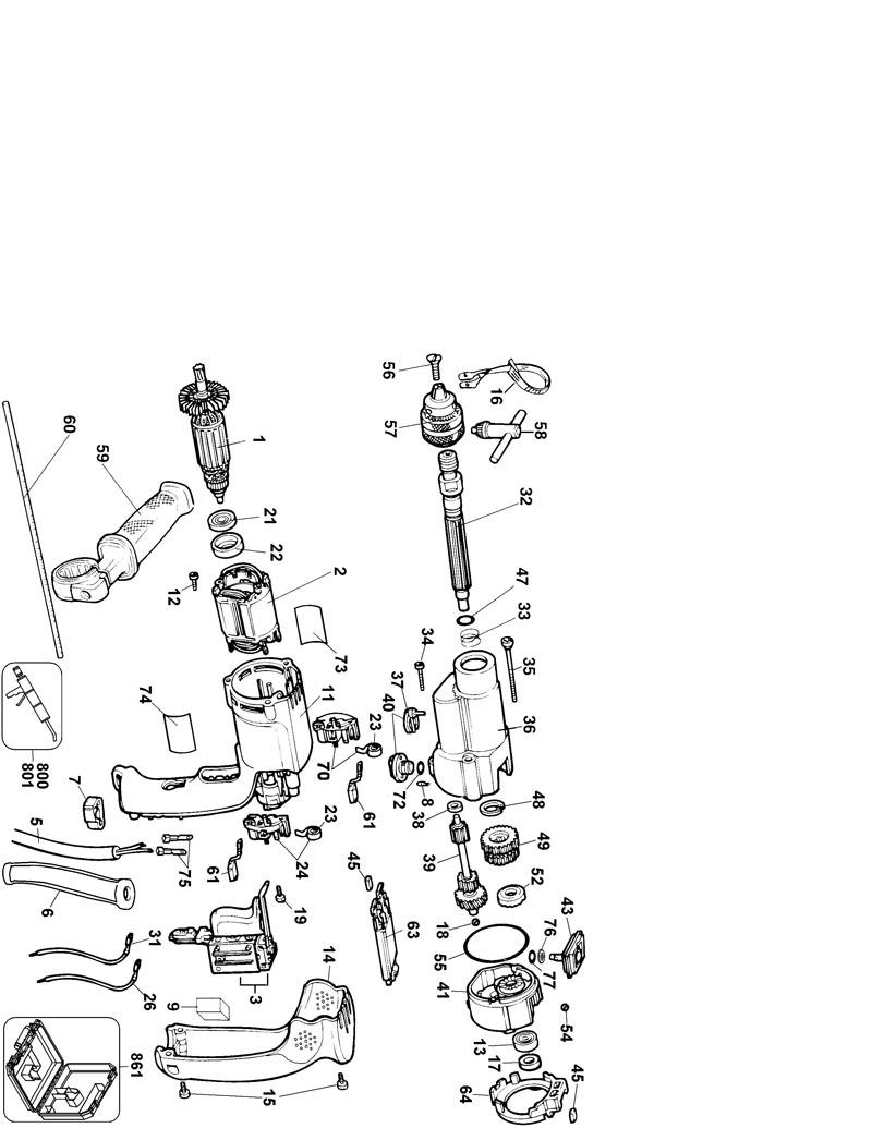 Wiring Diagram For Dewalt Dw505 Trusted Goettl Parts Type 1 Powerhouse Distributing Diagrams