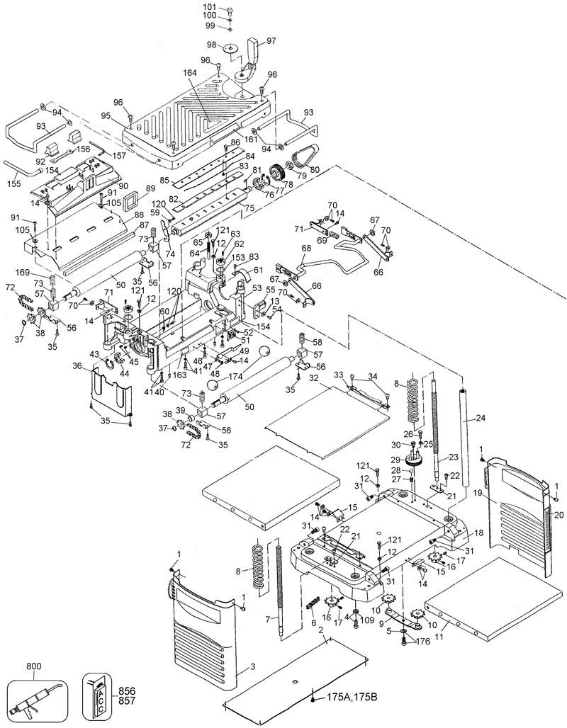 Dewalt Planer Wiring Diagram - Wiring Library •