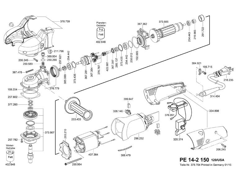 Parts For Pe 14 2 150 Powerhouse Distributing