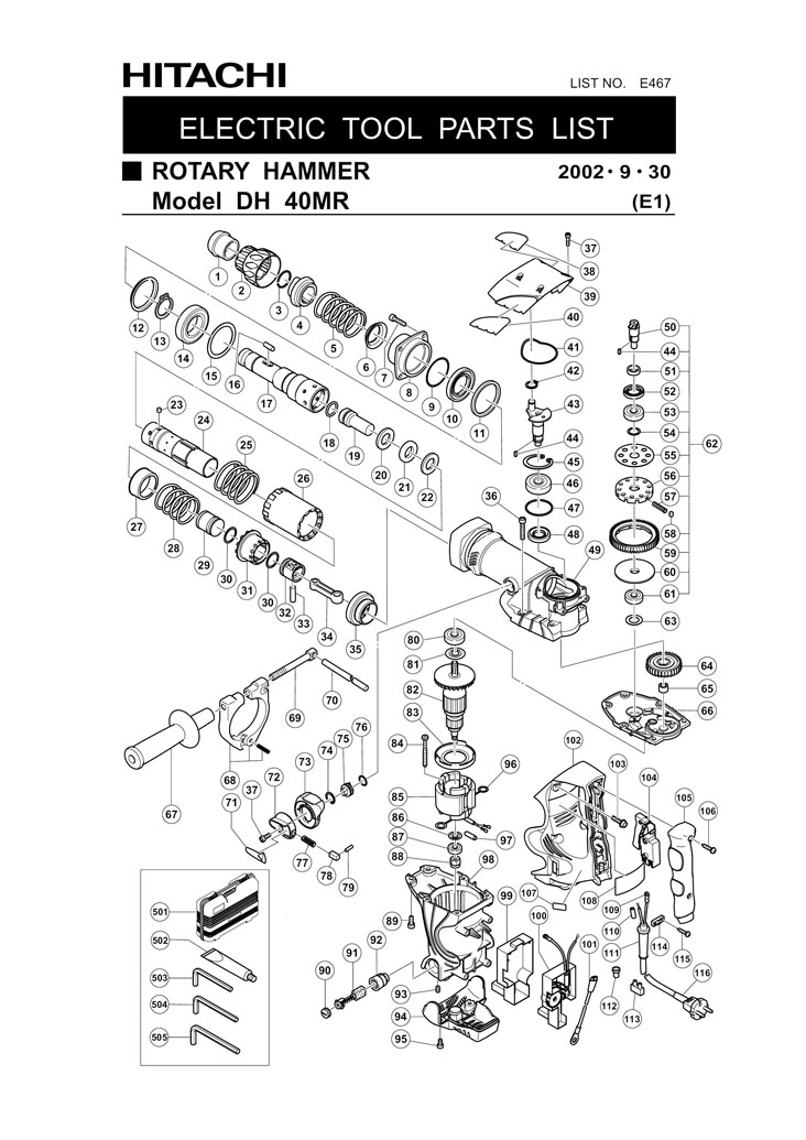 Hitachi 321295 Clutch DH40MR DH40FR DH40MRY Replacement Part