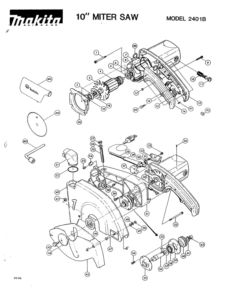 Parts for 2401B | Powerhouse Distributing
