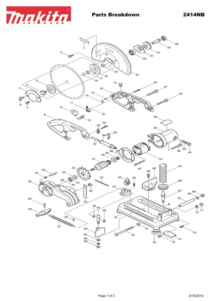 Makita Parts Diagram All Kind Of Wiring Diagrams
