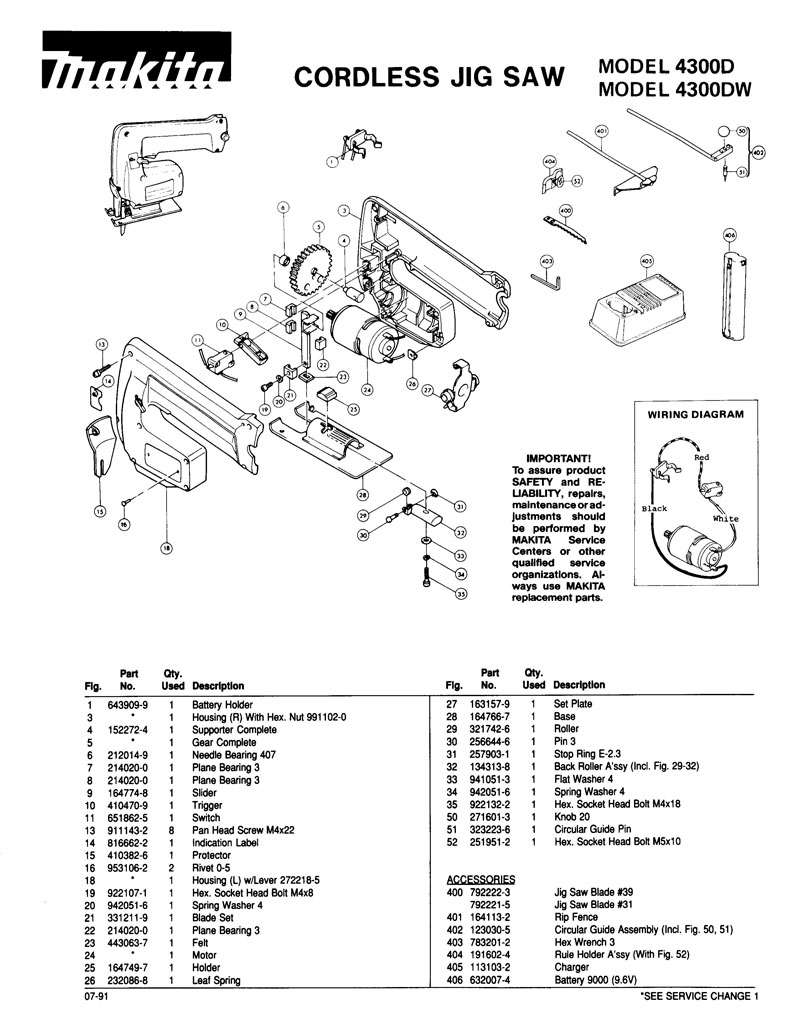Parts For 4300d Powerhouse Distributing Wiring Diagram 96v Tool