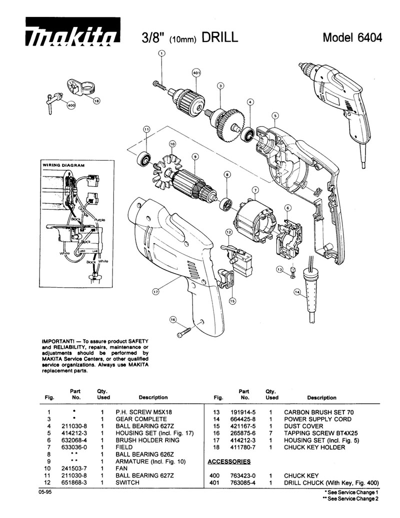 Parts for 6404 | Powerhouse Distributing on
