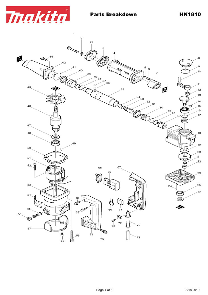 Parts for HK1810 | Powerhouse Distributing on drill bit diagram, milwaukee drill diagram, power drill diagram, drill chuck diagram, hilti drill diagram, black and decker drill diagram, bosch drill diagram, drill press diagram, ingersoll rand drill diagram, pillar drill diagram, hammer drill diagram,