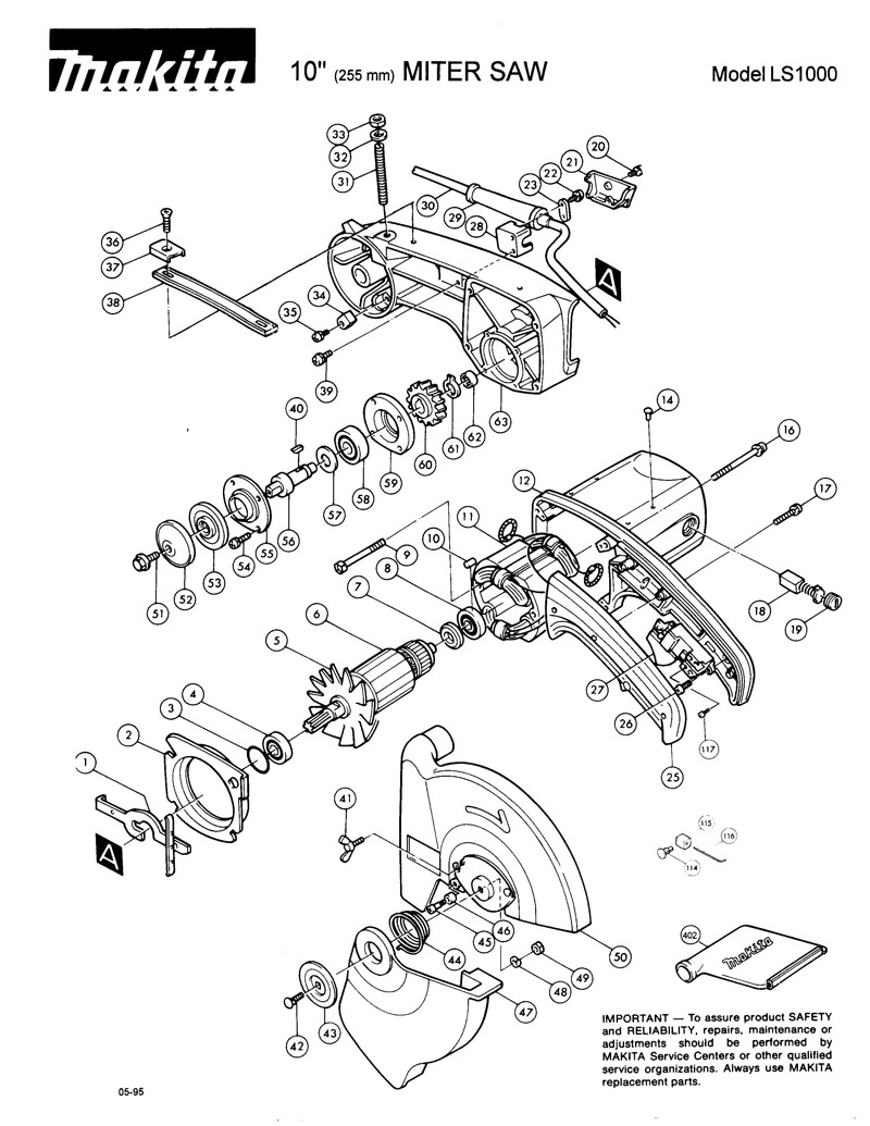 Parts for LS1000 | Powerhouse Distributing