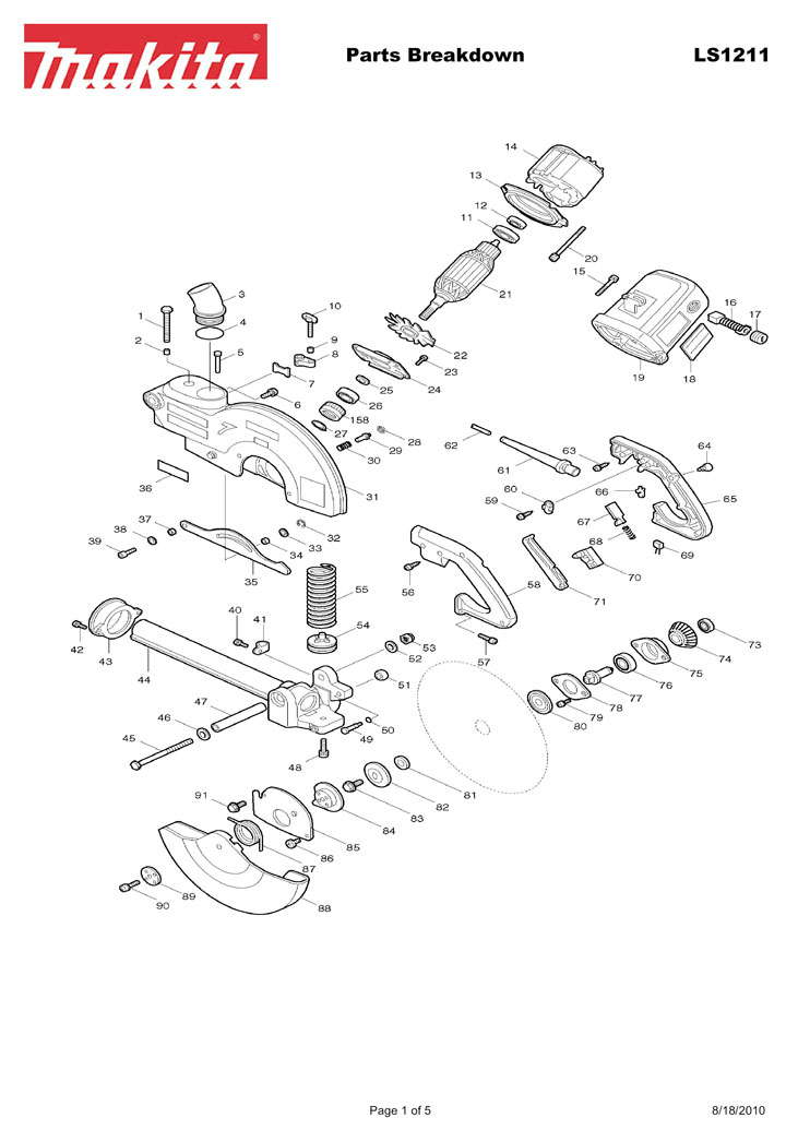 Parts for LS1211 | Powerhouse Distributing on
