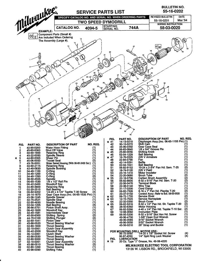 Shear Pin MILWAUKEE 44-60-0065
