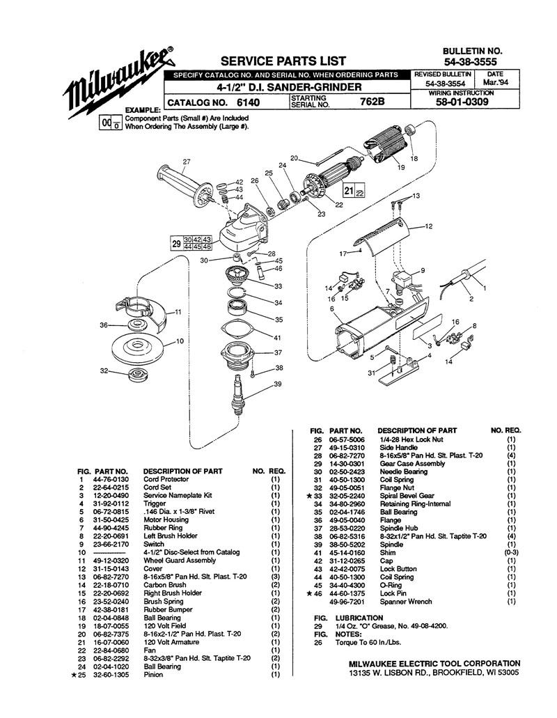 MILWAUKEE 23-52-0240 Brush Spring