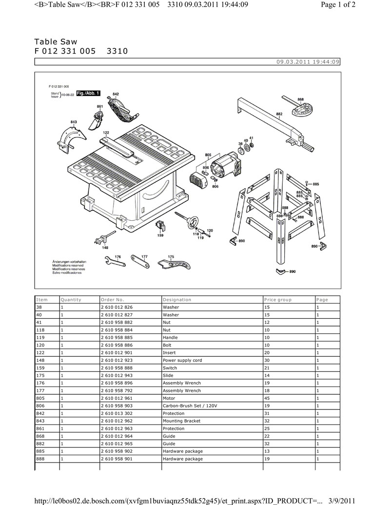 Parts For 3310 House Distributing