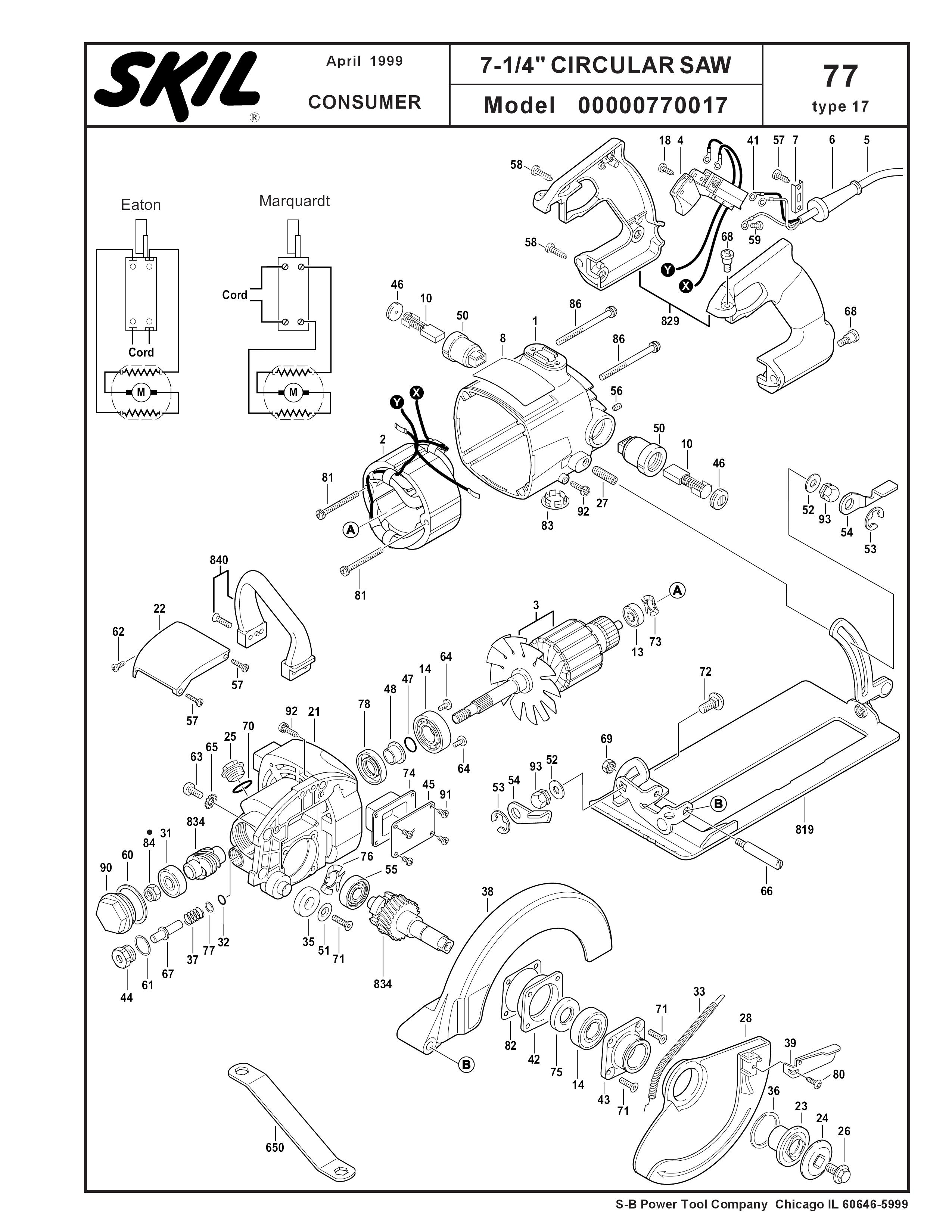 Parts For Hd77 Type 17 Powerhouse Distributing