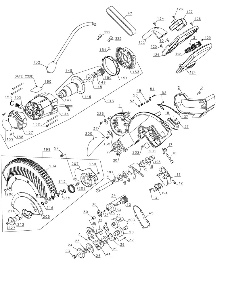 Dewalt Miter Saw Wiring Diagram And Engine Craftsman Compound Delta Further Dw705 Furthermore 11239 Also